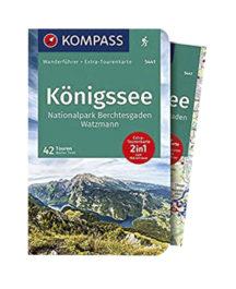Kompass 5441 Wanderbuch Königssee mit Wanderkarte