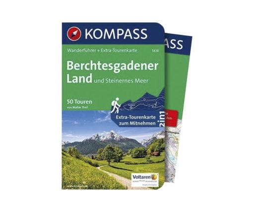 5438 Kompass Wanderkarte und Wanderbuch