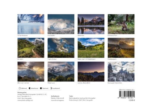 Übersicht Nationalpark Kalender 2021