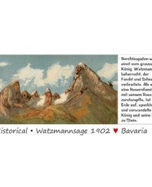 Bildmagnet Watzmannsage